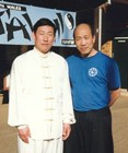 Howard Choy and Master Chen